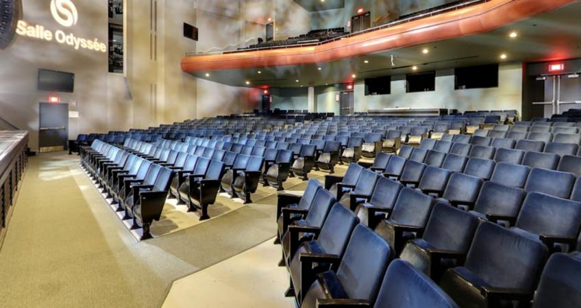 Salle Odyssée | La Maison de la culture de Gatineau